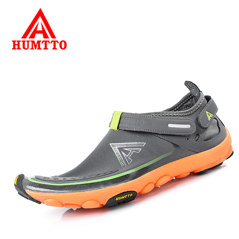 Humtto Men Outdoor Summer Hiking Shoes Women Mesh Sports Walking Sneakers Breathable Ultra-light Trekking Terrain Climbing Shoes women sneakers men running winter thermal shoes ultra light damping air sole walking outdoor training sports shoes plus 36 45