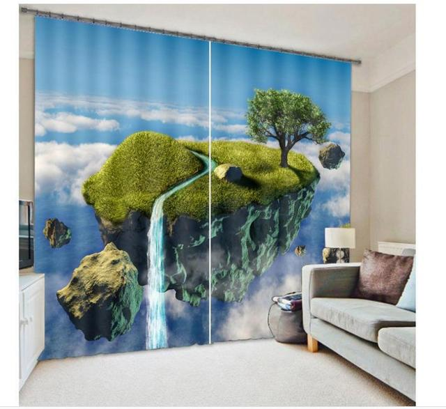 Curtains Ideas curtain wonderland : Aliexpress.com : Buy New style Curtain Wonderland 3D printing ...