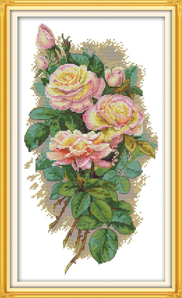 Rose 7 cross stitch