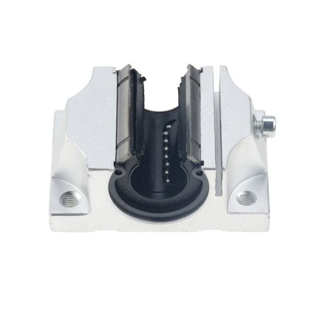 4 шт., бесплатная доставка, TBR20UU, 20 мм, Линейный шаровой подшипник, поддержка блока, фрезерный станок с ЧПУ