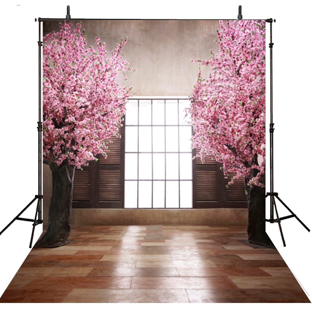 Pink Flowers Photography Backdrop Vinyl Backdrop For Photography Curtain Wedding Backgrounds For Photo Studio Fotografica shanny autumn backdrop vinyl photography backdrop prop custom studio backgrounds njy33