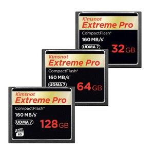 Image 5 - Kimsnot ekstremalny profesjonalista karta pamięci kompaktowa karta pamięci 32GB 64GB 128GB 256GB karta cf Compactflash wysoka prędkość 160 mb/s 1067x UDMA 7