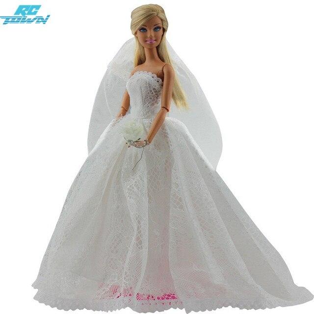 RCtown Brautkleid Prinzessin Kleid Kleidung Bestickt Mode Hochzeit ...