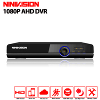 16 Channel AHD DVR 1080P 16CH AHD CVI TVI DVR 1920 1080 2MP CCTV Video Recorder
