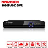 16 Channel AHD DVR 1080P 16CH AHD CVI TVI DVR 1920 1080 2MP CCTV Video Recorder