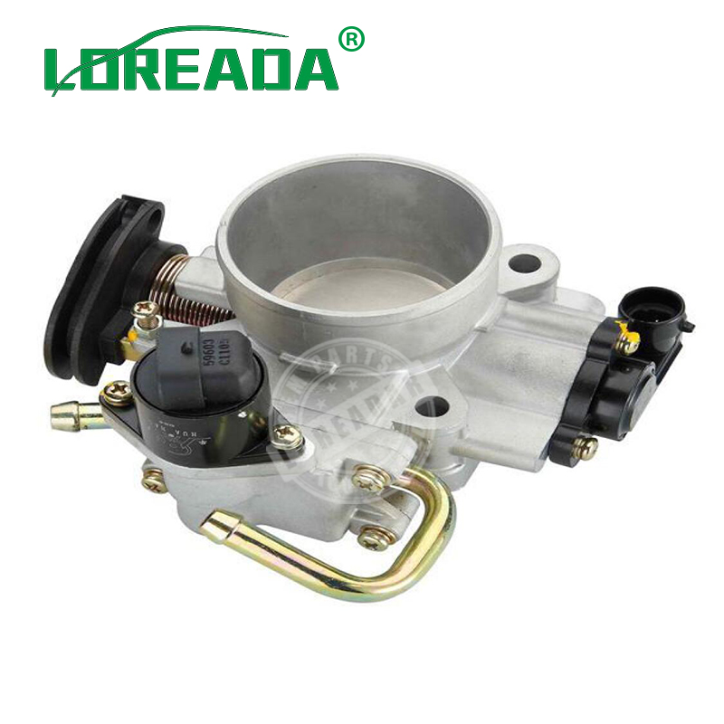 LOREADA Throttle body for Brilliance FRV 1.8L  Hafei Saibao 4G93 Delphi System Bore Size 55mm 100% Brand New Original-in Throttle Body from Automobiles & Motorcycles    1