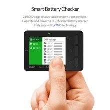 ISDT BG-8s BattGo умный аккумулятор для проверки балансировки сигнал приемника тестер функция быстрой зарядки для моделей RC подзаряжаемый, lipo