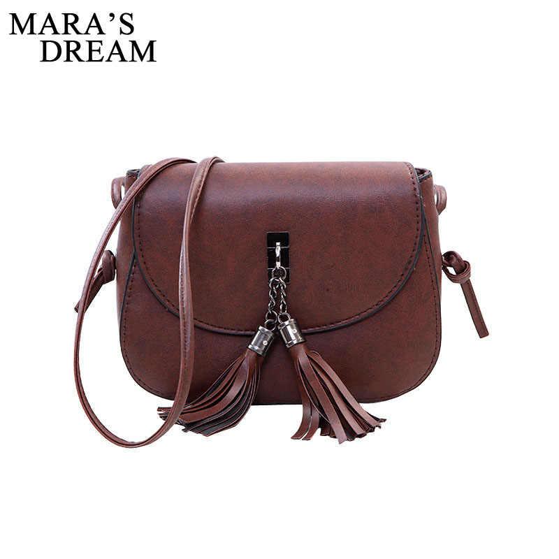 Mara's Dream 2019 Мини женские сумки-мессенджеры из искусственной кожи женская сумка на плечо с кисточками твердые клатчи цепи женские сумки через плечо переноска
