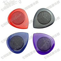 20 Pcs Mix Color Nylon Small Water-drop Clear Durable Bass Guitar Picks Plectra Plectrums 1.0mm