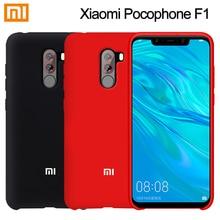 Xiaomi POCOPHONE F1 Case Fashion Liquid Silicone Soft Back C