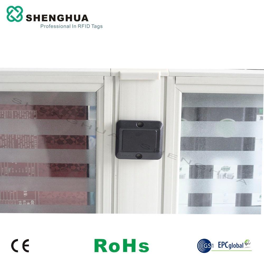 10pcs/pack Reusable ABS Anti Metal UHF RFID Tag Waterproof Adhesive Smart Contactless RFID Sticker Long Range Reading For Retail