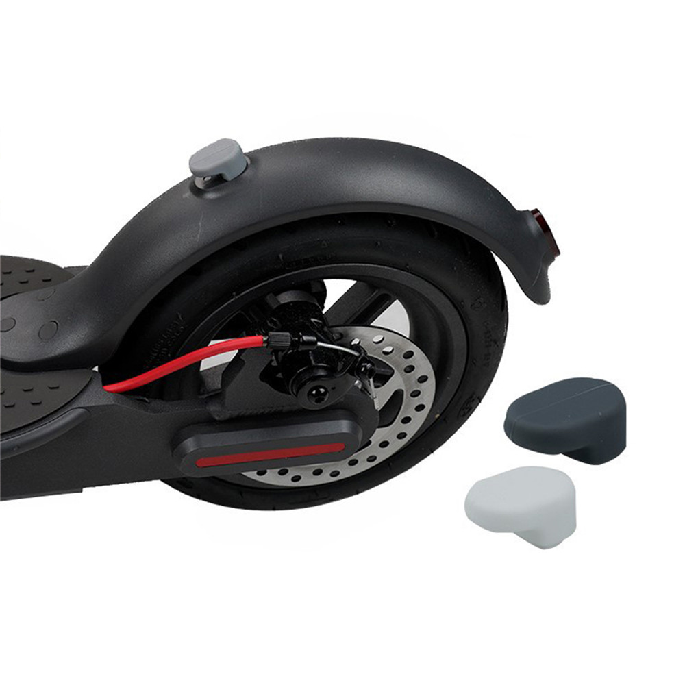 Rear Fender Silicone Cap For Xiaomi Mijia M365 Electric Scooter Parts Skateboard Fender Mudguard Guard Protective Accessories