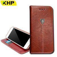 KHP Wallet Leather Phone Bag Case For IPhone 6 6S 7 Plus 4 4S 4G 5