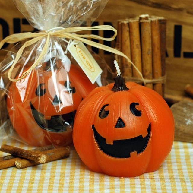 2 Pc Belle Citrouille Bougies Enfant D Anniversaire Bougie Halloween