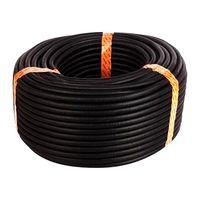 100 футов 3/8 дюймов Сплит оплетка проводов трубопровод полиэтиленовый шланг черный цвет рукава трубки