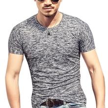 Men's Tops & Tees Summer t-shirt men cotton short sleeve t-shirt homme Plus Size 3XL tshirts
