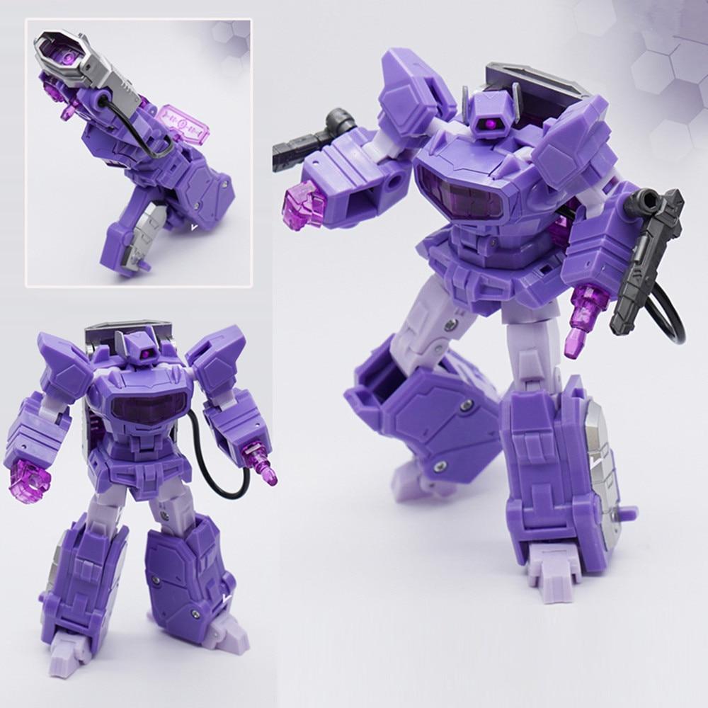Action Figure For Mft Transformation G1 Shockwave Mf35 Mf-35 Pocket War Pioneer Series Lost Planet Action Figure Ko Robot Toys