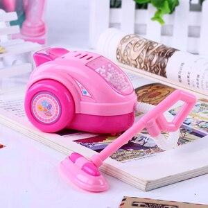 Image 5 - Kawaii brinquedos de cozinha 1 peça, fingir, jogar mini simulação, luz up & som, rosa, eletrodomésticos, brinquedo para crianças crianças bebê menina