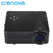Crenova домашний мини-Кино проектор HDMI LED игры pc цифровой мини Проекторы Поддержка 1080 P proyector новый подарок
