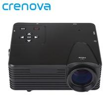 Crenova Mini Home Cinema Projector HDMI LED Game PC Digital Mini Projectors Support 1080P Proyector New GIFT