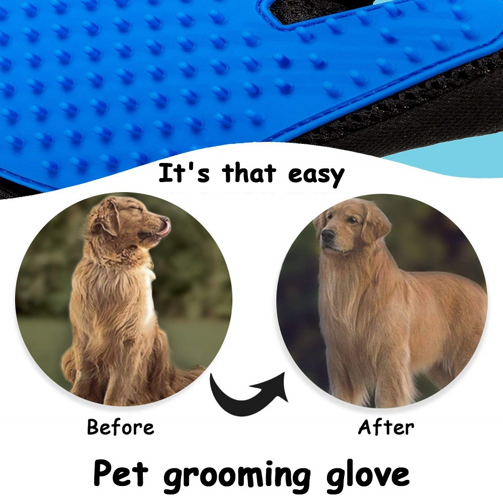 HTB1pv7.TwHqK1RjSZFEq6AGMXXav Pet Glove Cat Grooming Glove Cat Hair Deshedding Brush Gloves Dog Comb for Cats Bath Clean Massage Hair Remover Brush