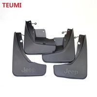 1SET 4PCS Car Mudguard Accessories Mud Flaps Splash Guards Cover Fender For Jeep Grand Cherokee 2011 2012 2013 2014 Mudguards