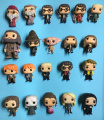 Harry Ron Weasly Severus Snape Dobby Dementor Dumbledore Lord Voldemort PVC Action Figure Collection Model Toys 10CM