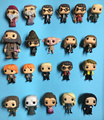 Harry Ron Weasly Severus Snape Dobby Dementor Lord Voldemort Dumbledore Acción PVC Figure Collection Modelo Juguetes 10 CM