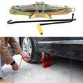 Acessórios do carro Ferramenta Universal Jack 1.0 Ton Talha Tesoura Compact Elevador Jacks Auto Com Alça
