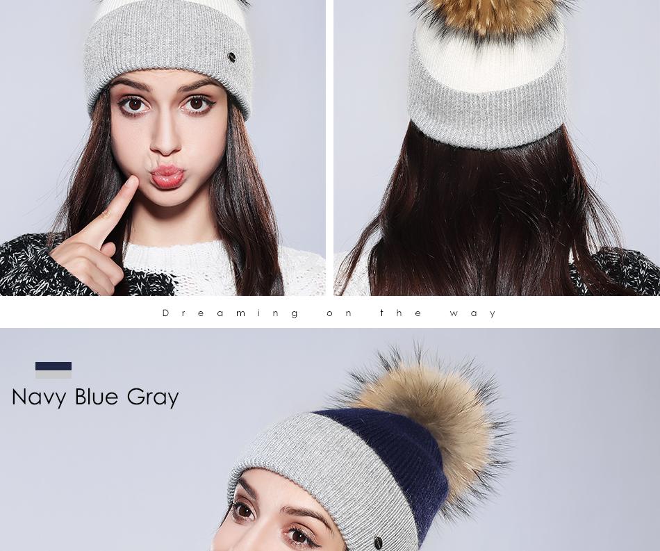 Winter Hat For Women MZ744 (8)