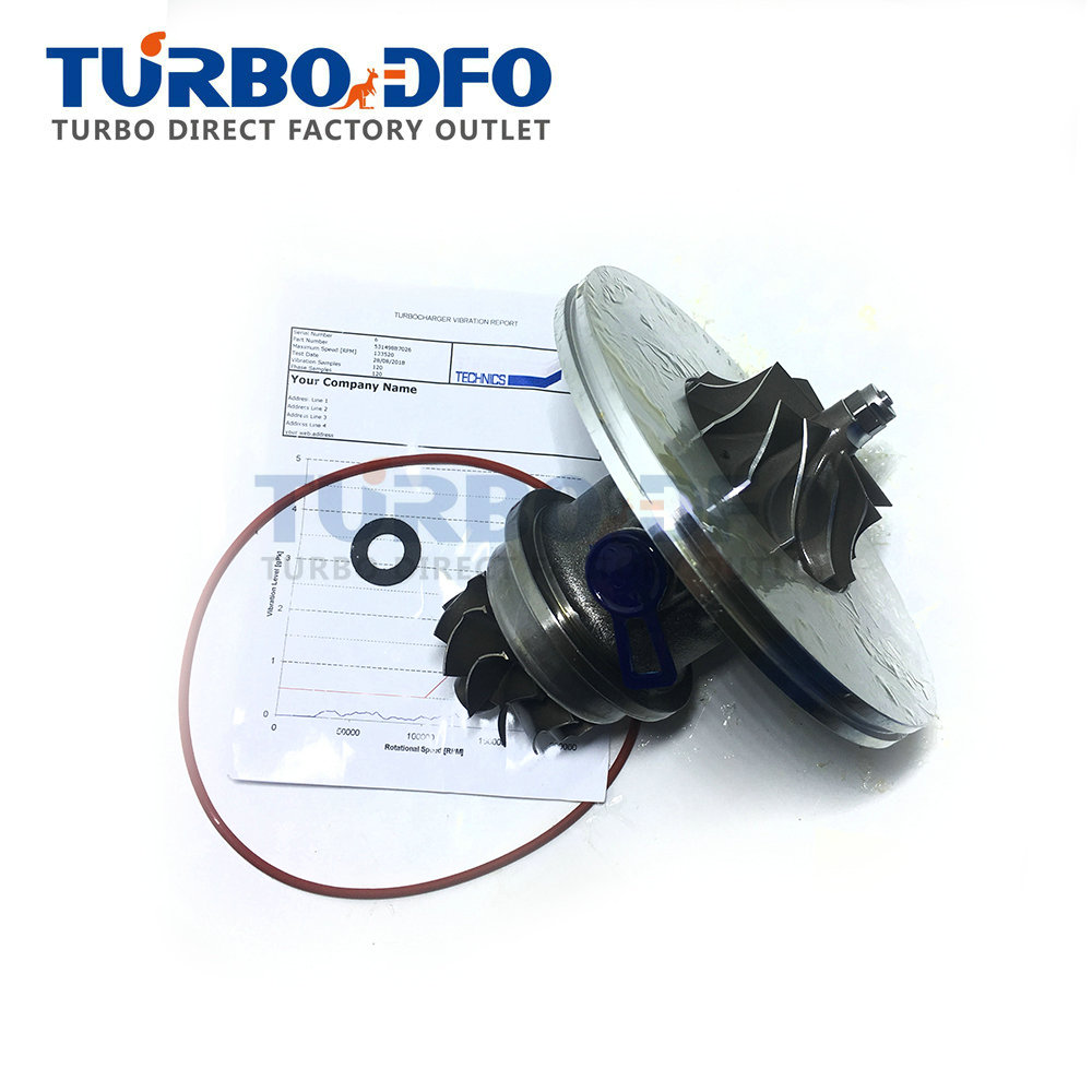 NEW Turbine Core 53149887026 KKK K14 For Mercedes E300 TD W210 OM606 130Kw 177Hp - 53149707026 Cartridge Turbine CHRA Balanced