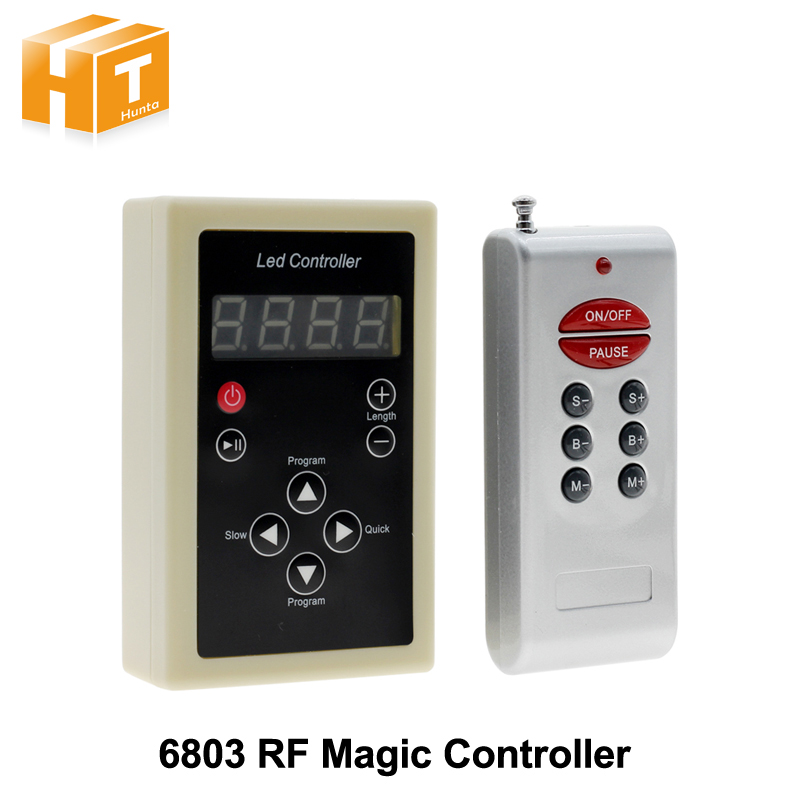 6803 RF Controller 133 Change Digital Dream Magic Color Chasing 6803 Ic 5050 RGB Colorful LED Strip