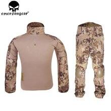 Emersongear уровня gen2 борьбе равномерное тактический рубашка и брюки военный армии США bdu костюм горца Маскировочные костюмы EM6980