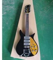Al por mayor pequeño 325 330 360 381V69 mapleglo guitarra eléctrica negro longitud de la escala oro pickguard 527mm 141225