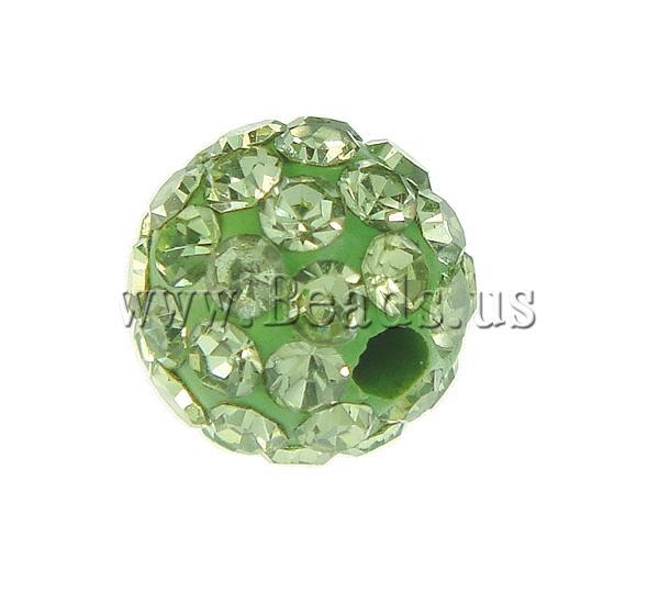 Aliexpress.com   Buy 6mm Peridot color 10pcs   lot Chunky Resin Rhinestone  Beads Bling Resin Ball Beads for Chunky Necklace Jewelry from Reliable beads  ... 0a269b8eb1cf