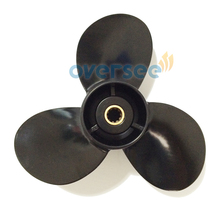 OVERSEE Aluminum Propeller 58100 91D00 019 size 9 1 4x8 For Suzuki Outboard Engine Motor 15HP