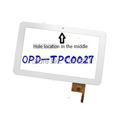 9 ''дюймовый Для Allwinner A13 A10 Tablet Емкостной Сенсорный Экран Digitizer ОПР-TPC0027 белый бесплатная доставка