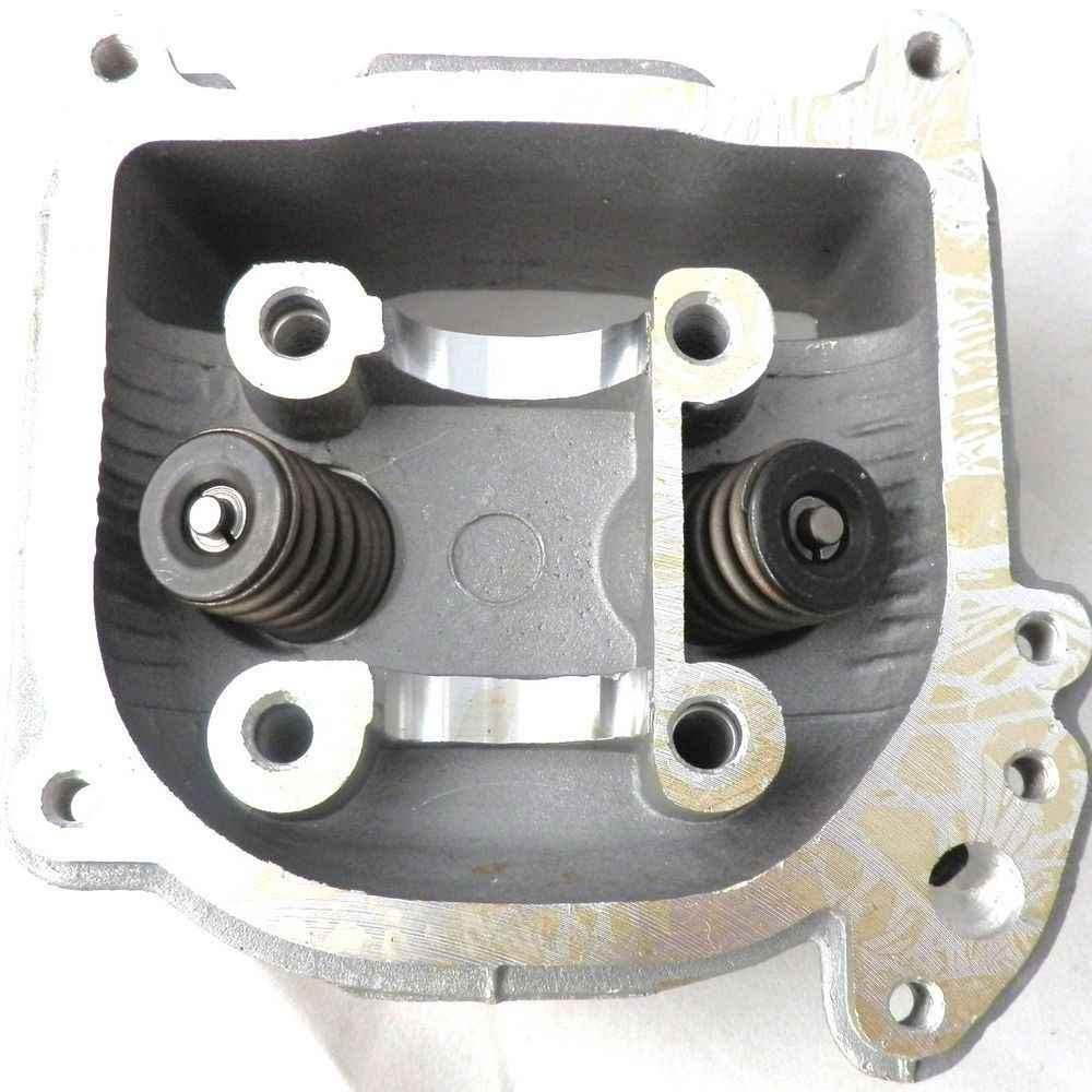 Performance Cylinder Head w/ 64mm 69mm Valve Length For GY6 50cc 80 90cc 139QMB Scooter 50mm EGR