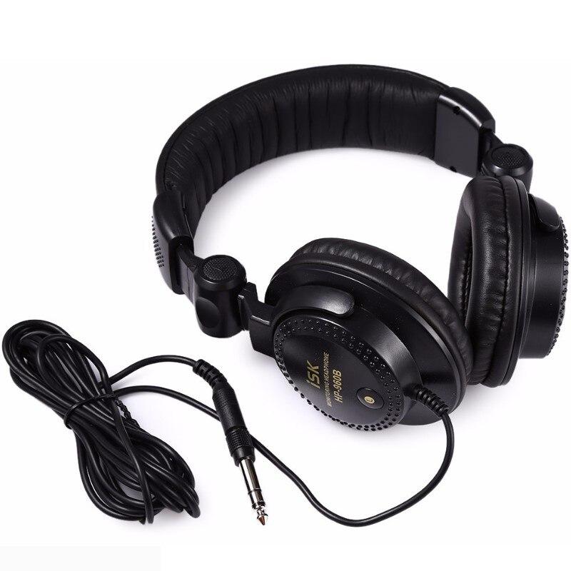 Nuevo auricular profesional ISK HP-960B de 3,5mm Monitor de estudio dinámico estéreo DJ HD auriculares de música