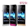 Abierto original de sony ericsson xperia miro st23 st23i teléfono 3g wifi gps android un año freeship garantía