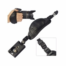 Genuine Leather Camera Strap Hand Grip for Sony Olympus Panasonic DSLR Professional Camera Accessories