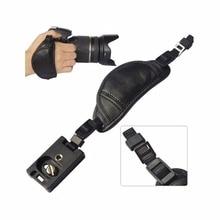 Sangle dappareil photo en cuir véritable poignée pour Sony Olympus Panasonic DSLR accessoires dappareil photo professionnel