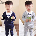 KEAIYOUHUO 2017 Autumn Boys Clothes Set Long Sleeve Tracksuit Boy Sport Suit Children Clothing Of 2 3 4 5 Years Costume For Kids