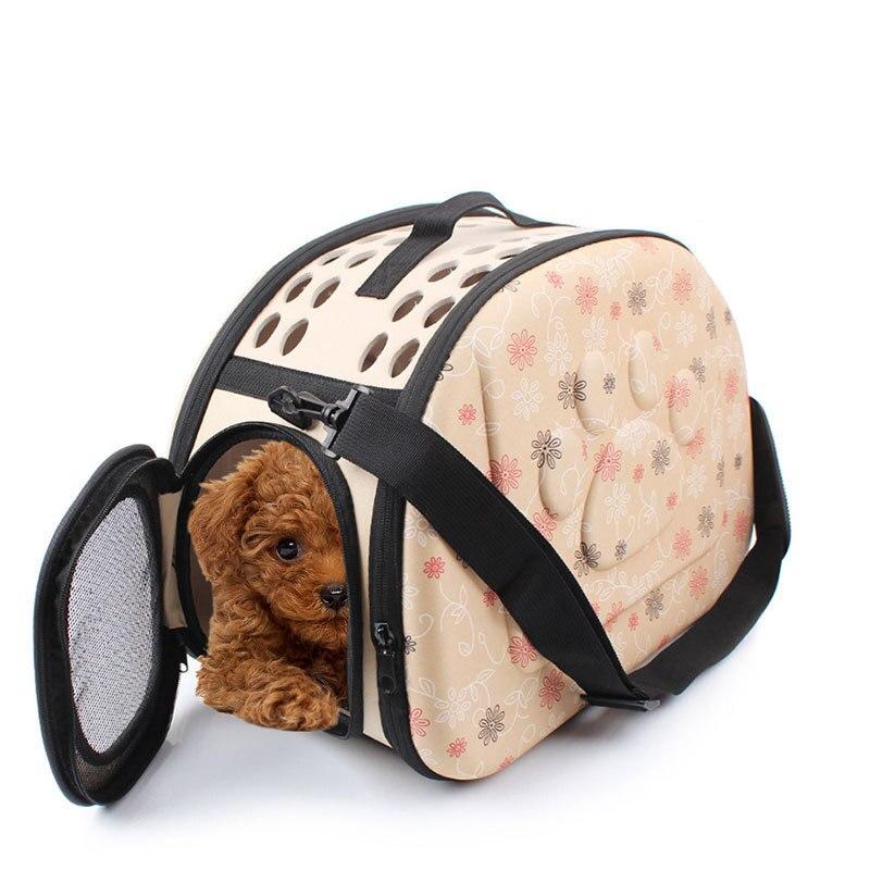 Portable Travel Pet Bag Outdoor Puppy Dog Cat Carrier Bags Shoulder Package Handbag Foldable Eva Material Soft Pets Dog Bag #2