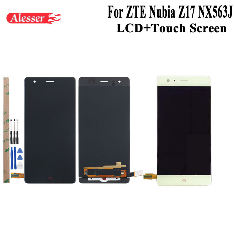 Alesser For ZTE Nubia Z17 NX563J LCD Display and Touch Screen Assembly Repair Parts Tools And