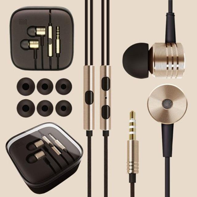 With Remote & Mic For Mobile Phone Mi4 Mi3 Redmi Note Retail Box Free Ship 100% Original XIAOMI Piston II 2 Mi Headset Earphones