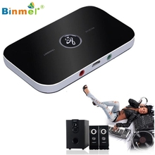 Binmer Receiver Transmitter Adapter Wireless Bluetooth 2-in-1 Audio Music A2DP Jan 12 MotherLander
