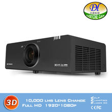 DLP laser light source Outdoor Projector 3D Full HD 1920*1200P lamp life 50000hrs Proyector Digital zoom Beamer DH-8808