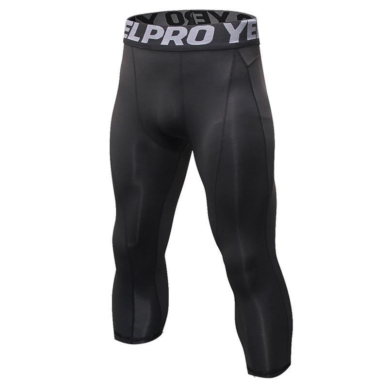 7th Men Running Tights Men Sports Leggings Sportswear Printed JoggerPants Sweatpants For Men Compress Gymming Leggings Workout