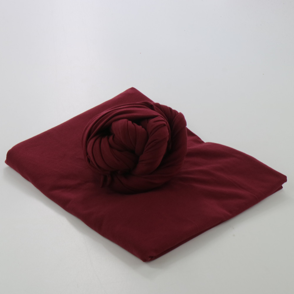 (80*50cm) Don&Judy Handmade Stretch Lycra Fabric Wrap (2pcs/pack) Baby Shower Gift Newborn Photography Props